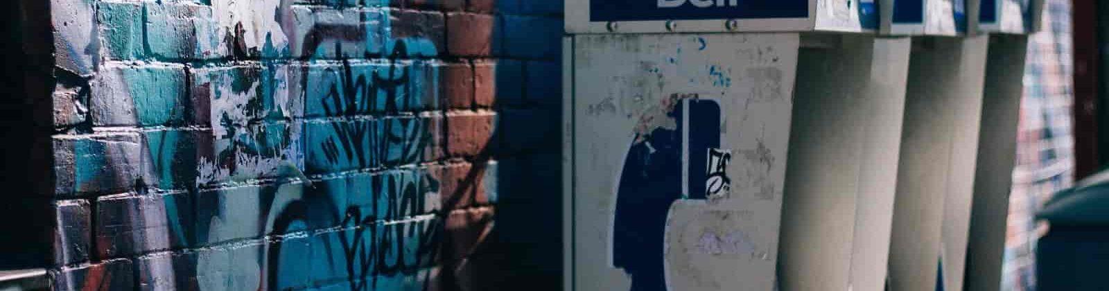 graffiti phone contact page