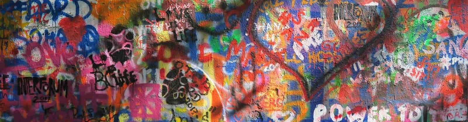 graffiti wall czechia