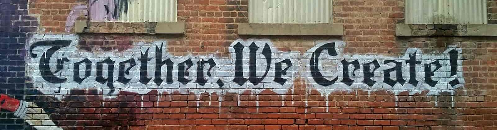 together we create graffiti christian eilers services page